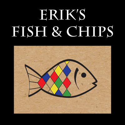 Erik's Fish and Chips logo