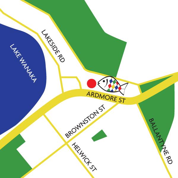 Wanaka Map