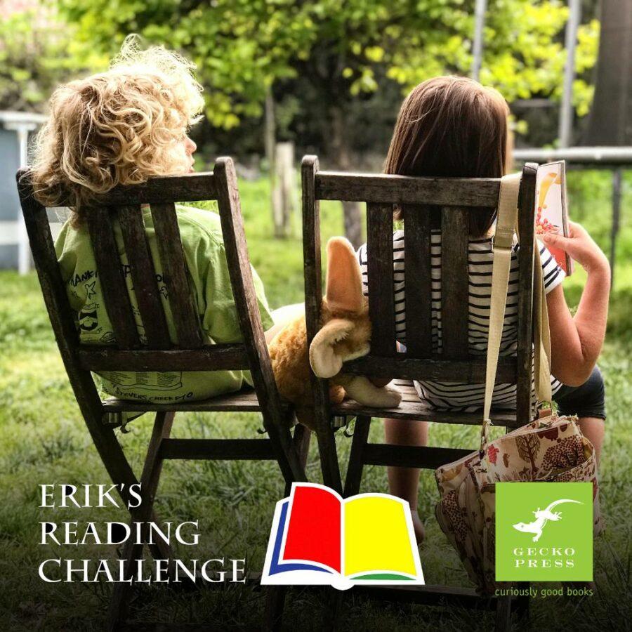 Gecko Press and Erik's Reading Challenge