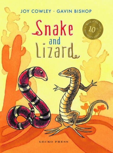 Snake and Lizard